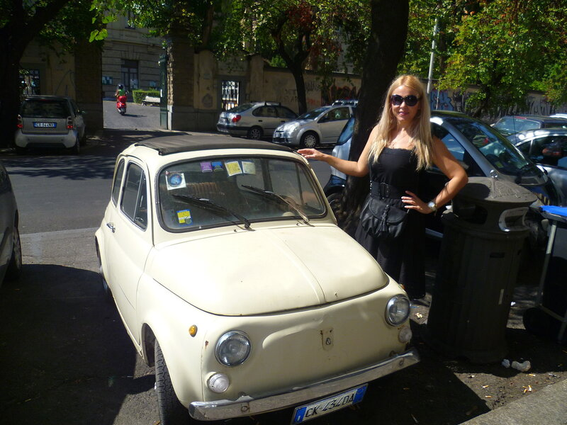 Фиат в Риме, Италия (Fiat in Rome, Italy)