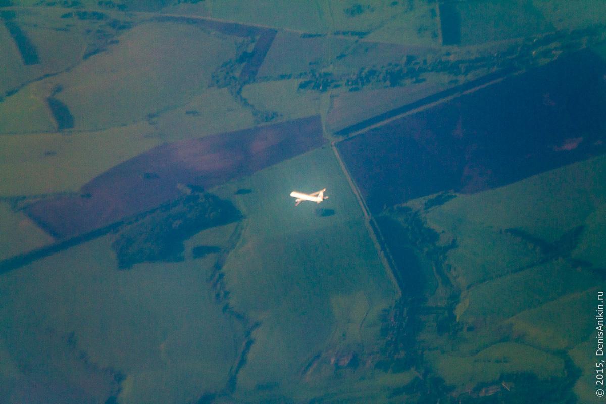 Полёт Саратов - Санкт-Петербург 10