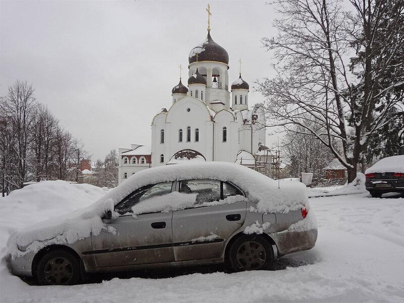 В Москву наконец-то пришла весна...