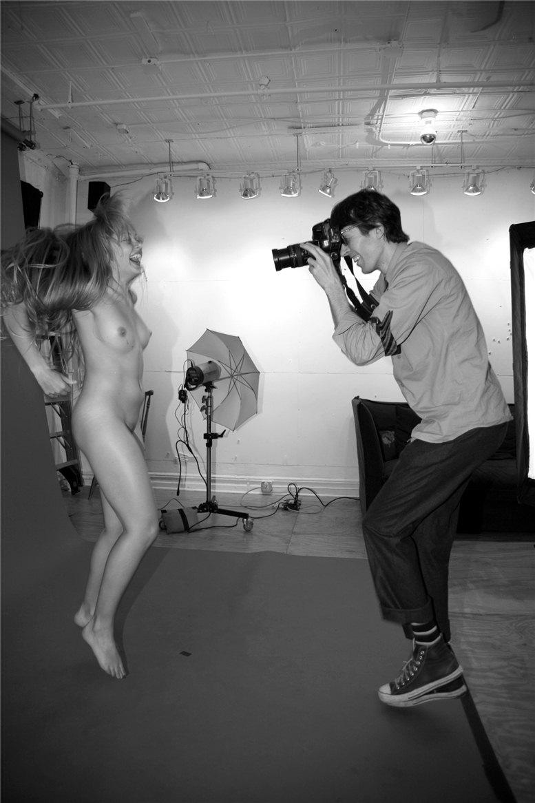 модели Норин Кармоди и Райан МакГинли / Noreen Carmody and Ryan McGinley, фотограф Rachel Chandler