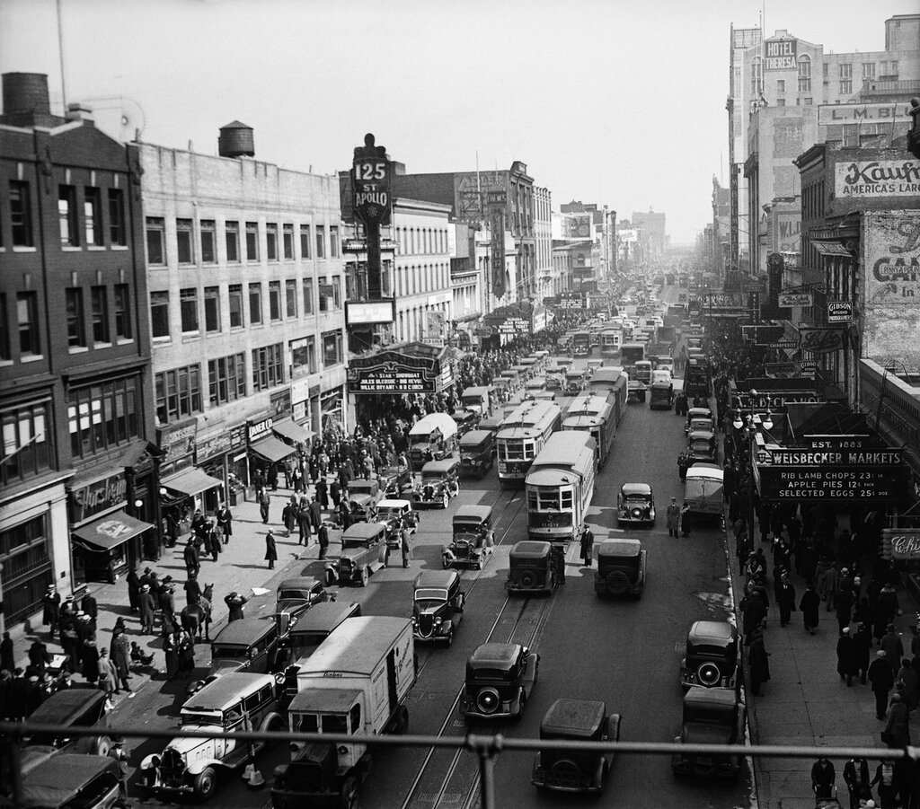 125th Street, Harlem 1935