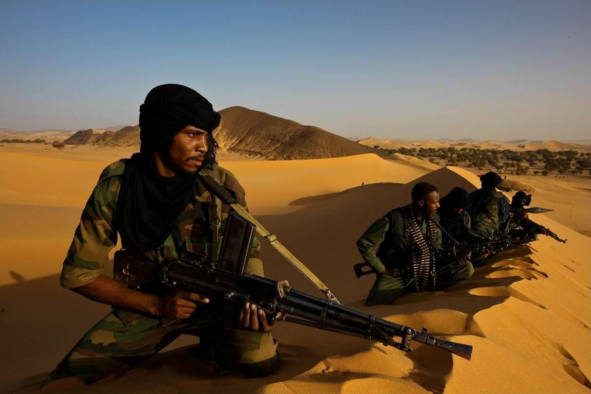 Воинственные североафриканские туареги на снимках фотографа из ЮАР Brent Stirton (1)