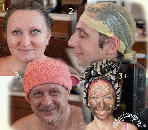 маска для волос из глины, маска из глины, маска от выпадения волос