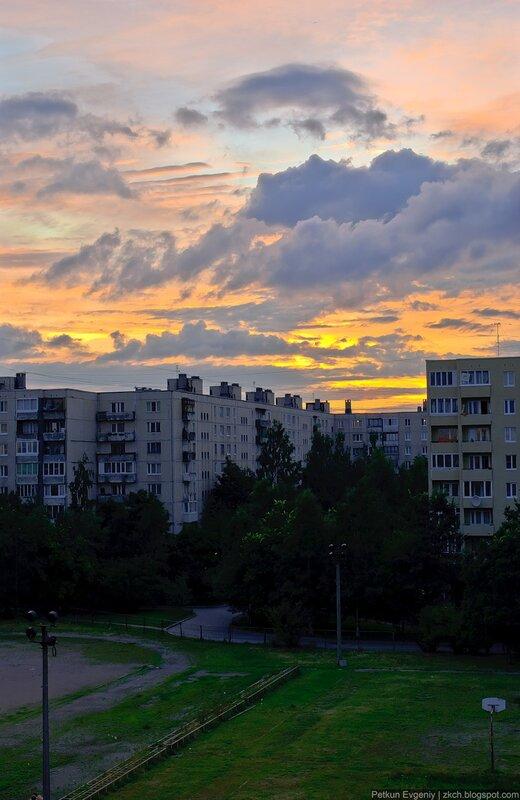 Автор: Петкун Евгений, блог Евгения Владимировича, фото, фотография: купчино, вид из окна