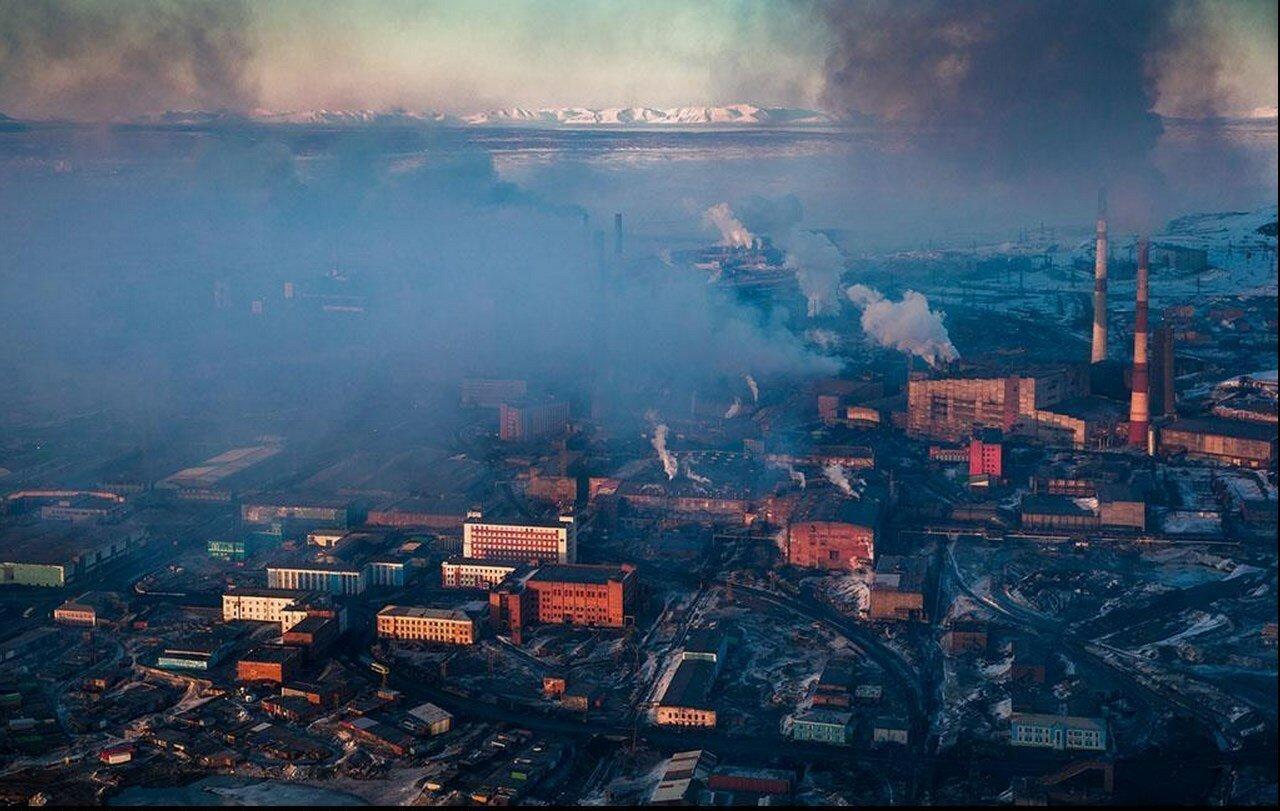 15. Промышленный город Норильск