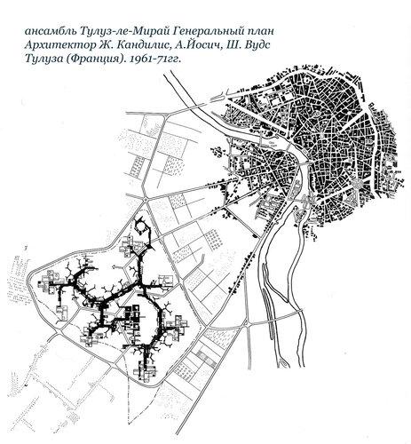 Супер-ансамбль Тулуз-ле-Мирай. Генеральный план