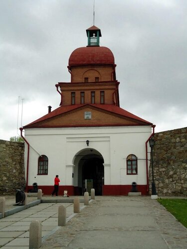 г Новокузнецк. Барнаульские ворота. Вид изнутри крепости