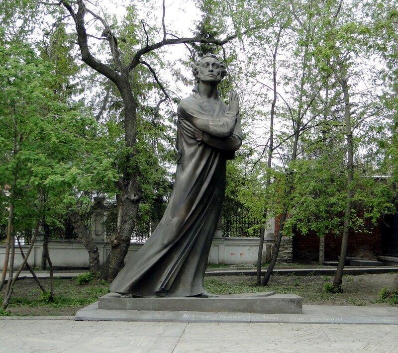 Памятник пушкину в екатеринбурге в литературном квартале памятники из гранита и мрамора отличие