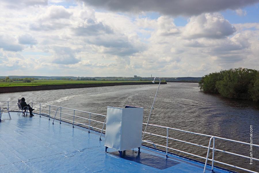 Очередная излучина Москвы-реки