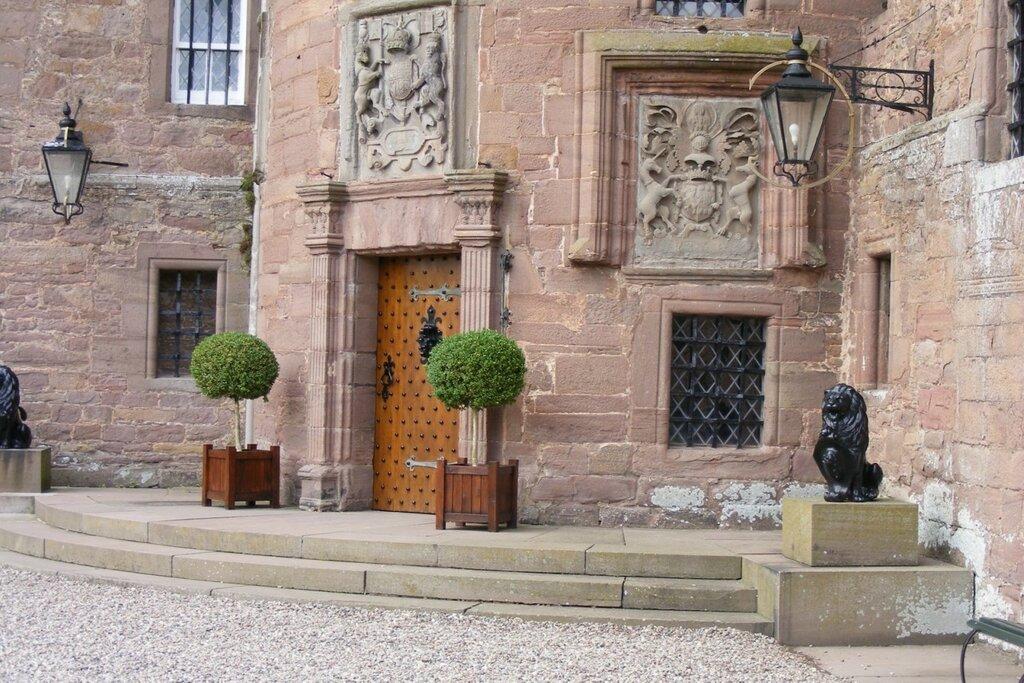 Замок Глэмис. Шотландия