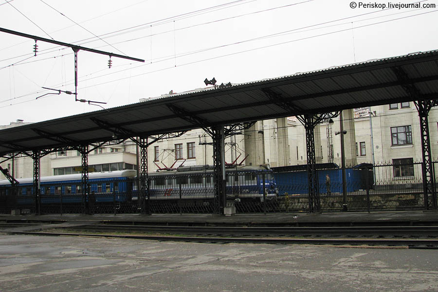 Брестский железнодорожный вокзал - виртуальная экскурсия