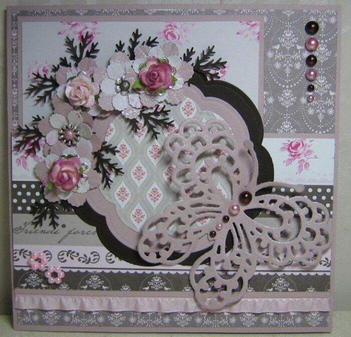 Гиф огромное, объемные открытки скрапбукинг с цветами