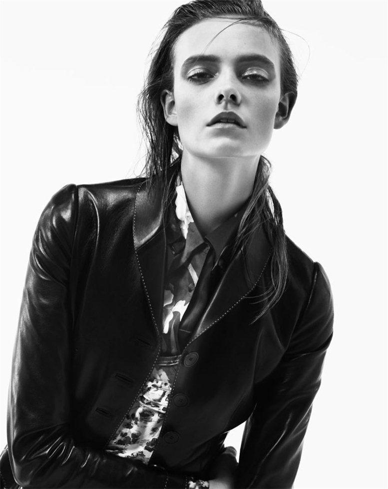 модель Нимью Смит / Nimue Smit, фотограф Rafael Stahelin