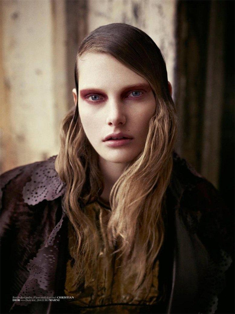 модель Илонка Верхейл / Ylonka Verheul, фотограф Mariano Vivanco