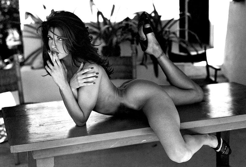 Stephanie Seymour by Sante D'Orazio