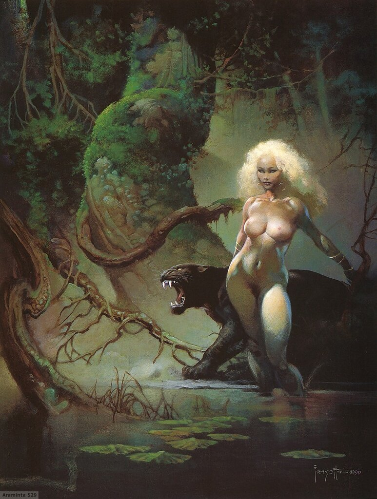 Fantasy Artist Frank Frazetta