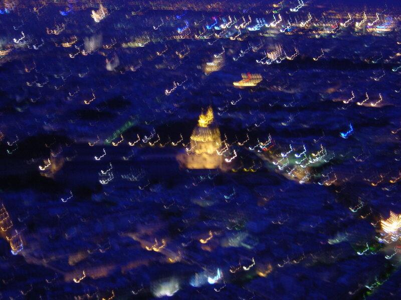 Франция, ночной Париж