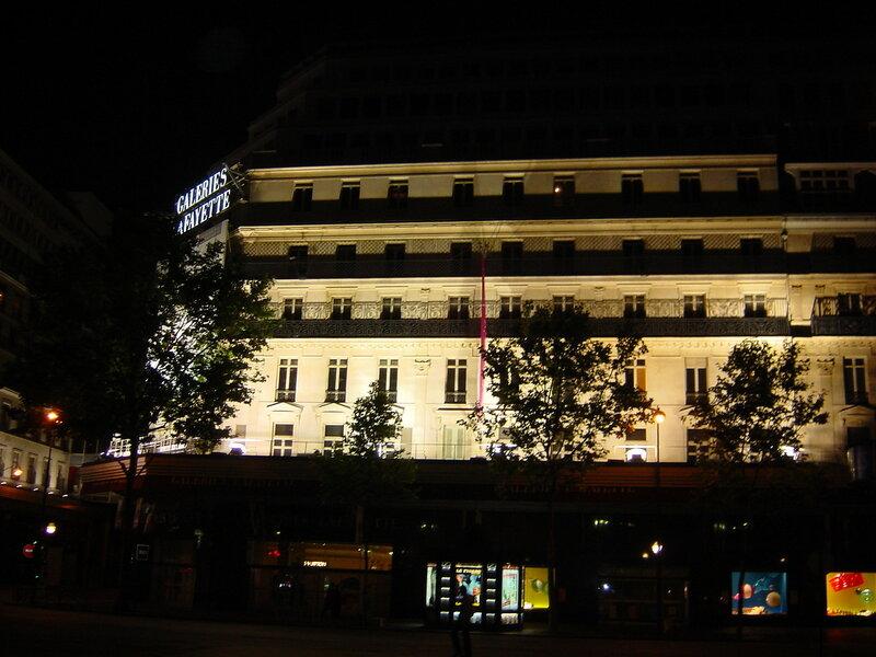 Франция, Париж, Galeries Lafayette