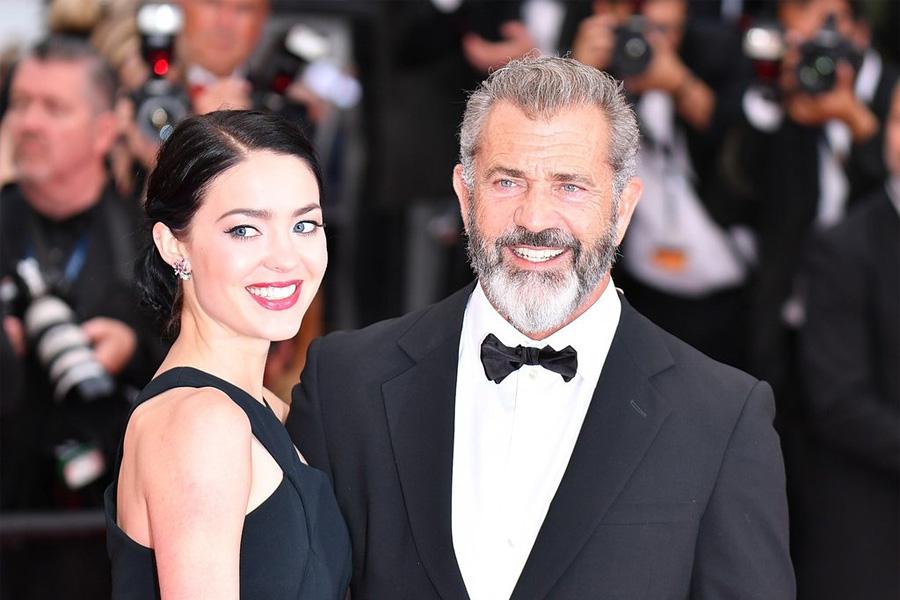 Розалинда Росс (25 лет) и Мел Гибсон (60 лет)