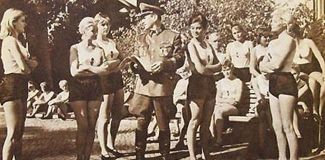 Секс в мировую войну