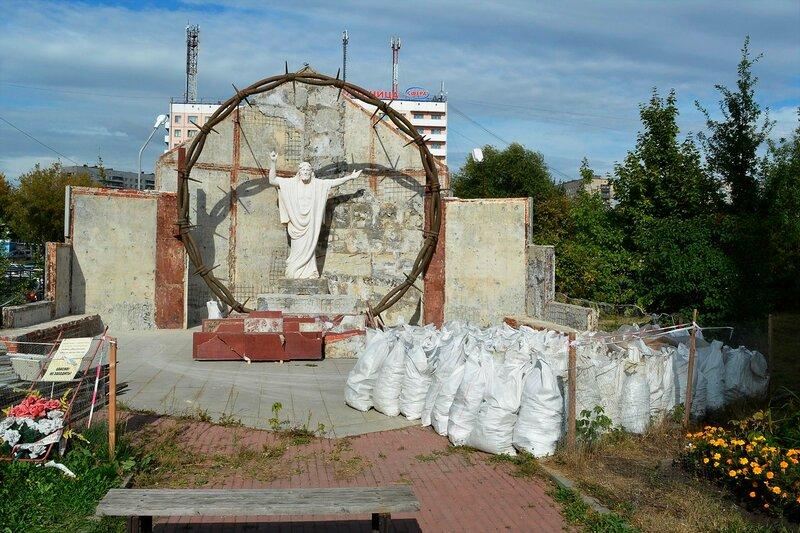 Реставрация памятника погибшим трудармейцам