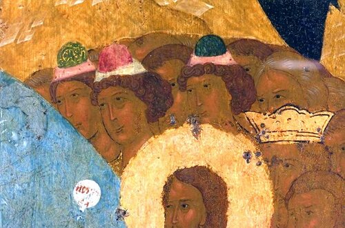 Сошествие во ад (Воскресение Христово). Икона Дионисия. 1502 - 1503 годы.
