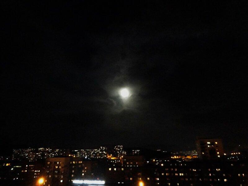 Суперлуние 14.11.16 во Владивостоке!