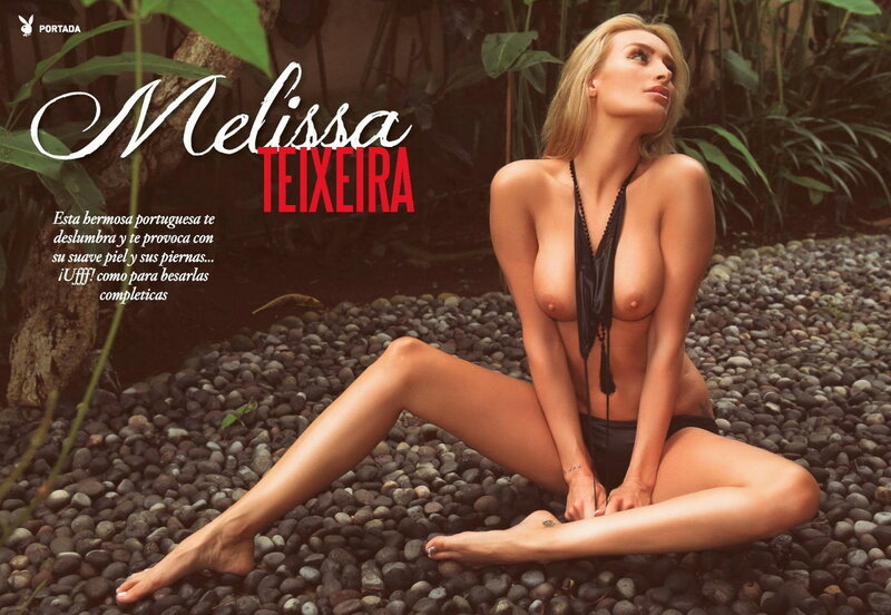 Miss May Venezuela Melissa Teixeira in Playboy