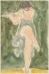 Isadora Duncan (enface center, right leg lifted, green tunic).jpg