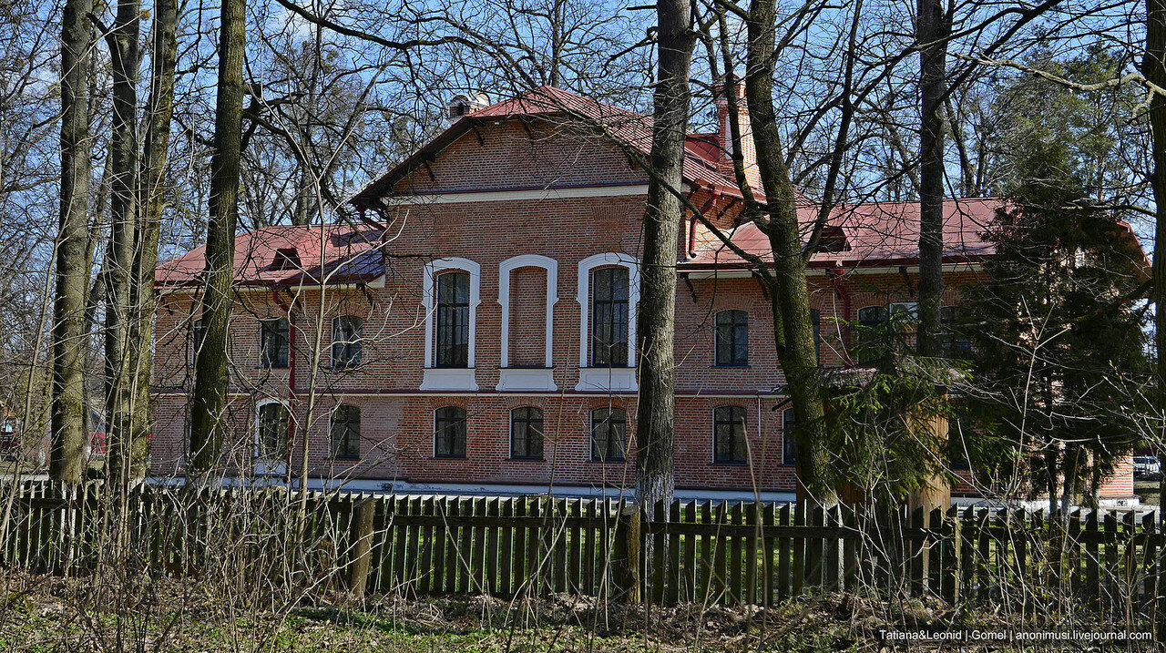 Усадебный дом Паскевича в Коренёвке