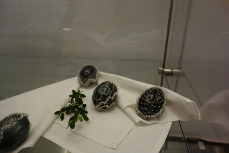 О жизни: Выставка традиционных чешских пасхальных яиц