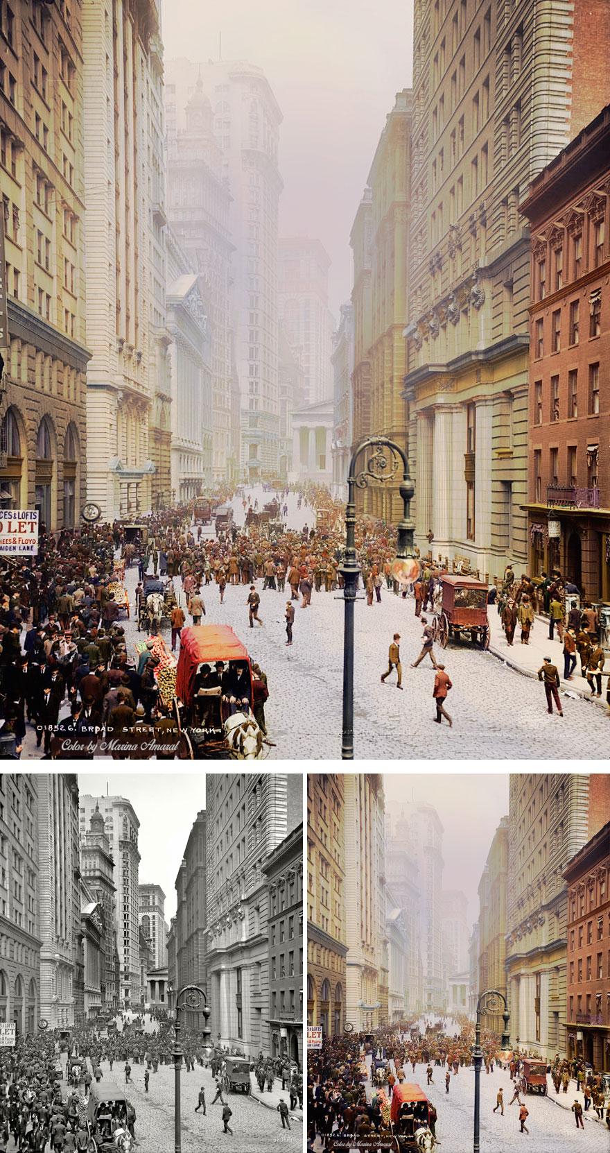Брод-стрит, Нью-Йорк.