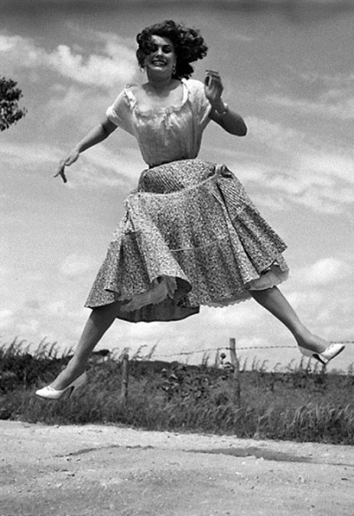 Итальянская актриса и певица Софи Лорен.