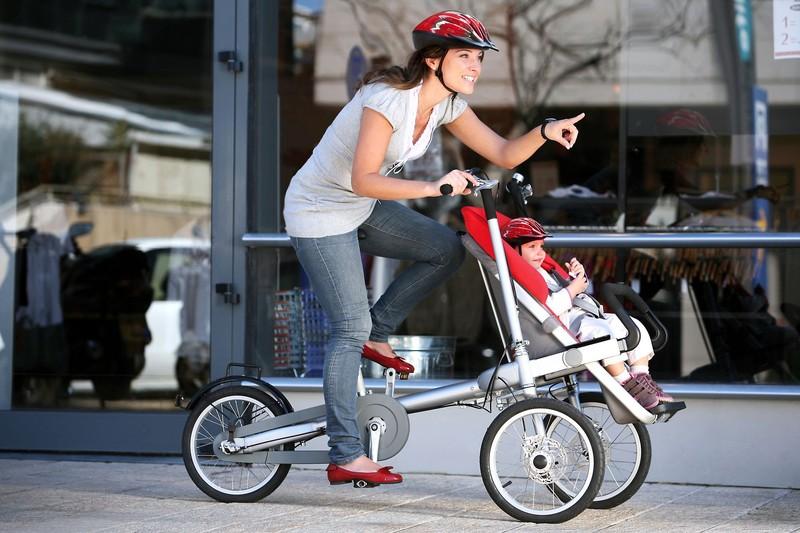 7. Коляска-велосипед