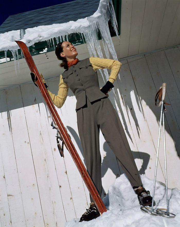 Toni Frissell для Vogue, 1940 год.
