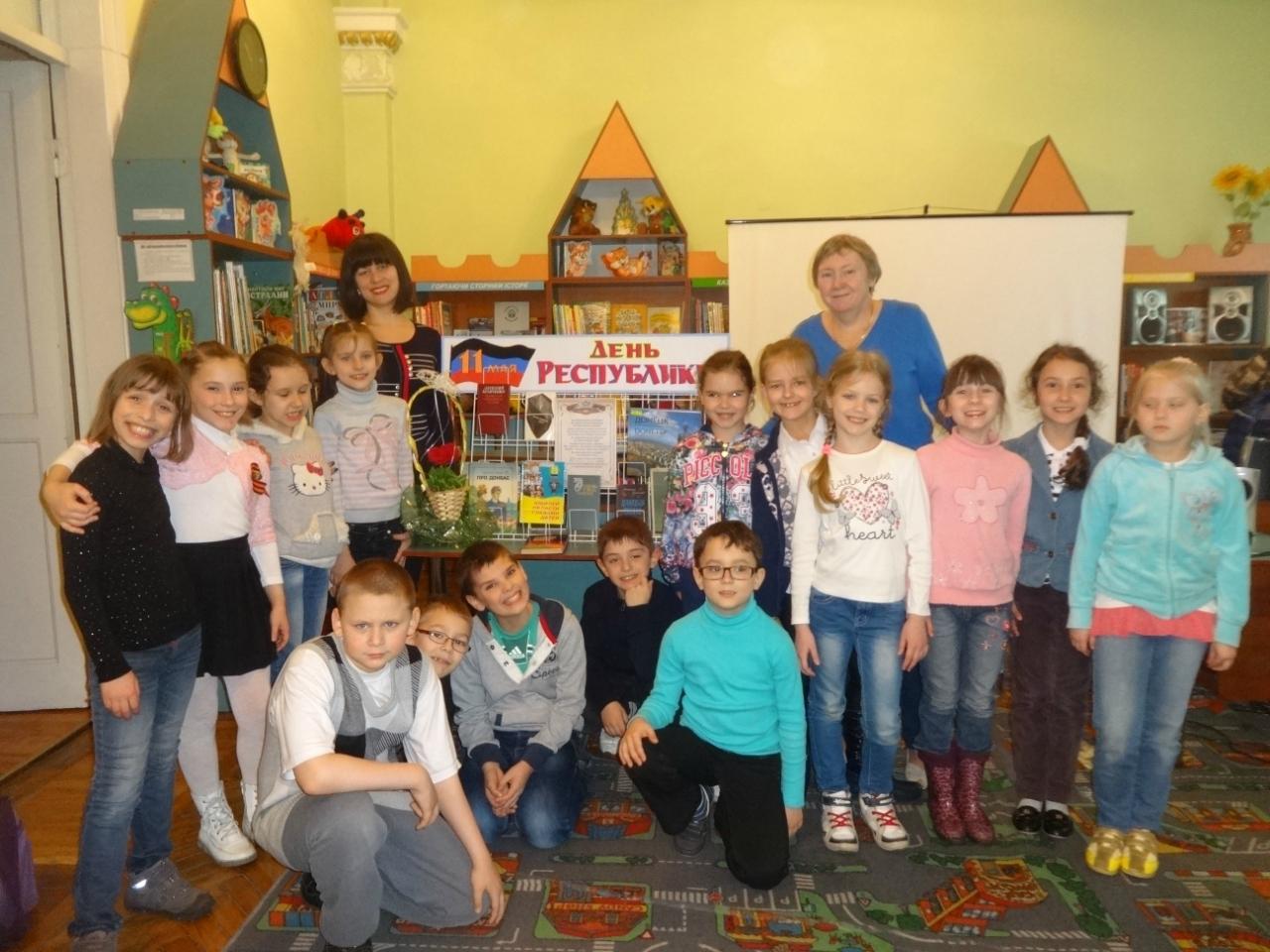 день донецкой народной республики,патриотическое воспитание детей,донецкая республиканская библиотека для детей