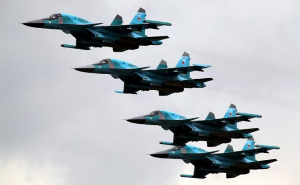 МинобороныРФ опровергло рискованное сближение Су-27 с североамериканским самолетом-разведчиком