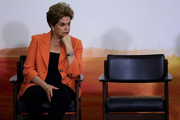 Президент Бразилии Русеф назвала себя невинной жертвой