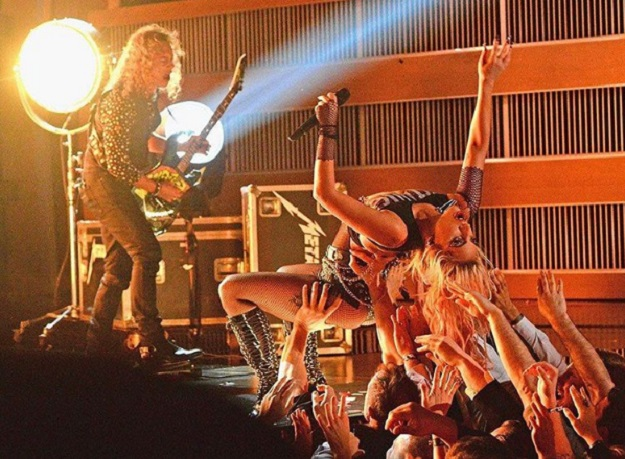 Украинский дуэт Synchrodogs снял лукбук для Леди Гаги