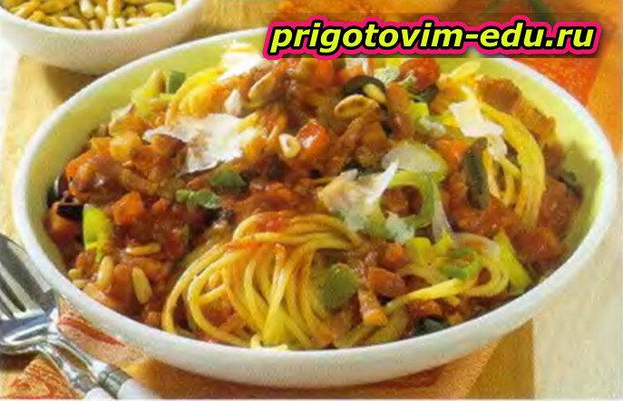 Рецепт Спагетти «Неаполь»