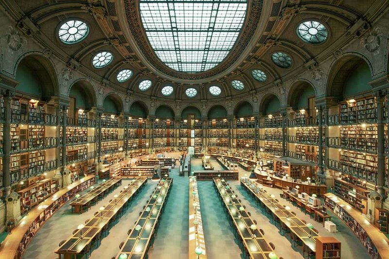 Национальная библиотека Франции, Париж, Франция.