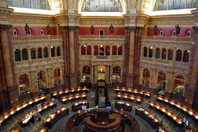 Библиотека Конгресса, Вашингтон, США.