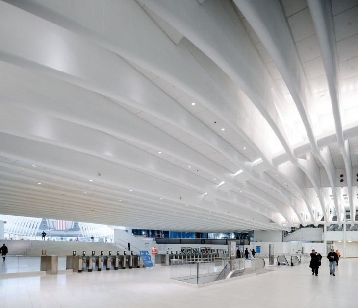 World Trade Center Transportation Hub by Santiago Calatrava