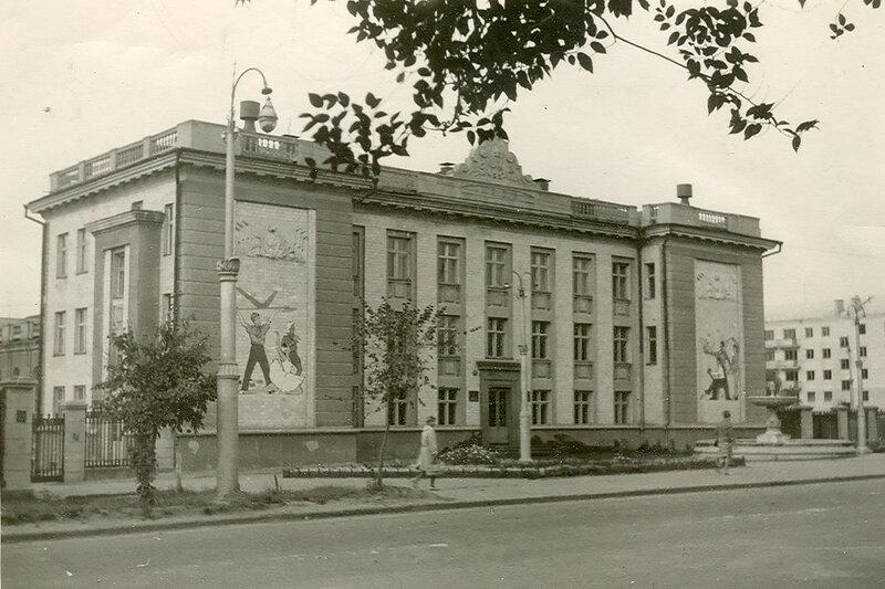 Белгород, Дом пионеров, фото Е.Рокиты, 1960-е