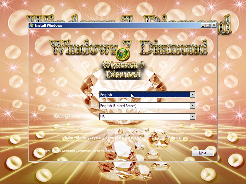 Windows diamond ultimate ru.