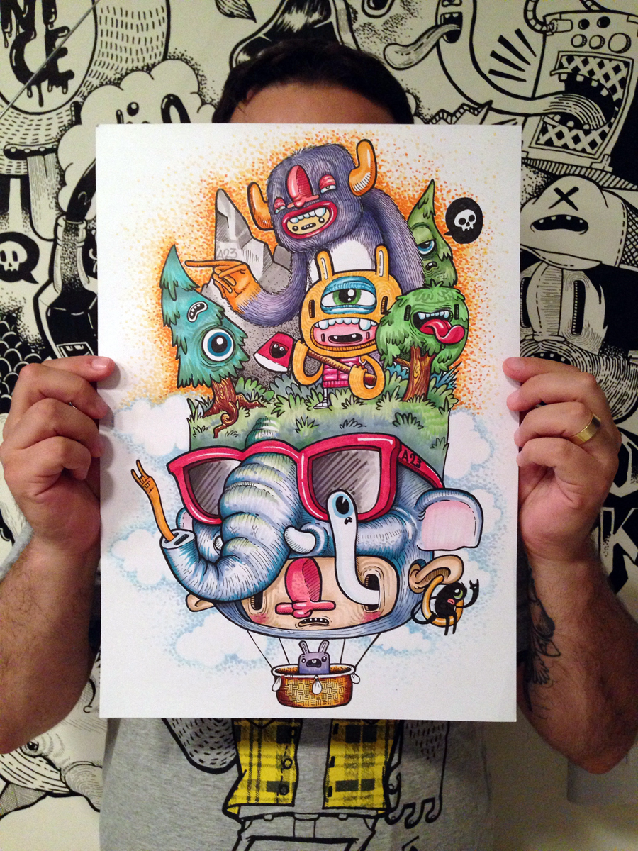 As ilustras de A23 - Pixel Show 2014