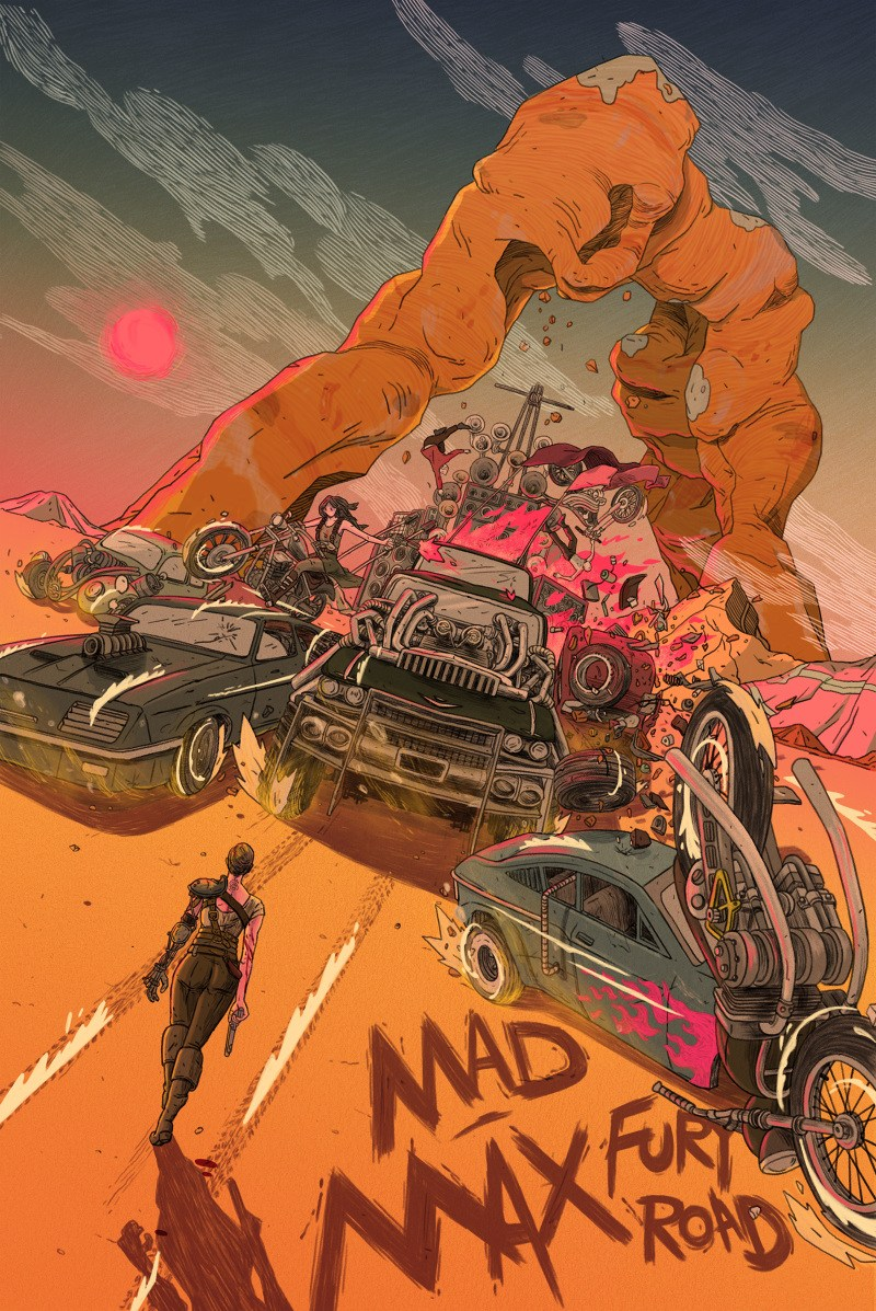 Mad Max Fury Road and Akira by Shian