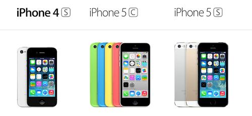 iphone 4s 5c 5s