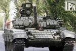 Т-72Б грузинской армии на марше