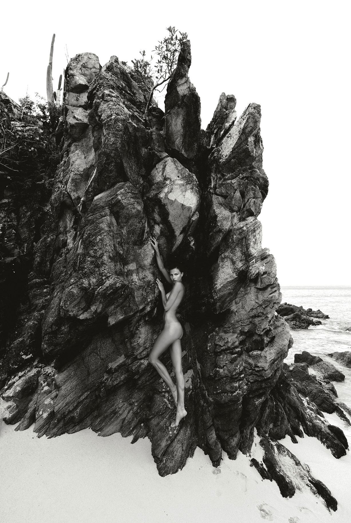 Rebecca at Gouverneur Beach - Sirens of St. Barts by Jean-Philippe Piter